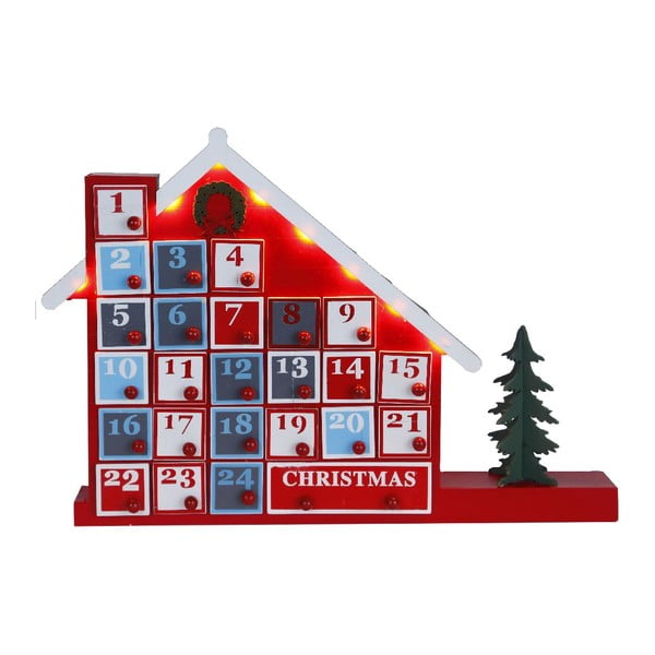 Dekoracja świecąca Best Season Advent House