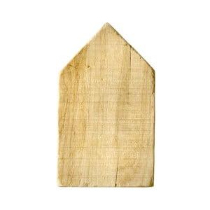 Drewniany domek dekoracyjny