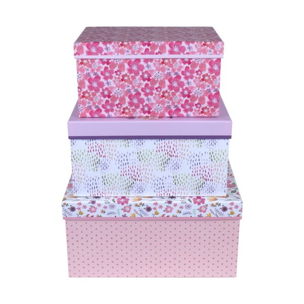Zestaw 3 pudełek Tri-Coastal Design Jenna Lynn