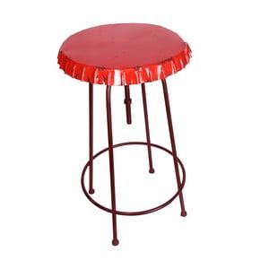 Metalowy stół Tabouret Rouge