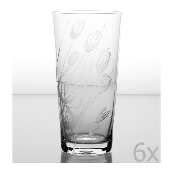 Zestaw 6 szklanek Czarnuszka 480 ml