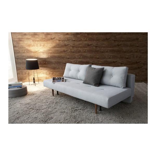Szarobiała sofa rozkładana Innovation Recast Plus