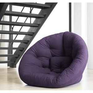 Fotel rozkładany Karup Baby Nest Purple
