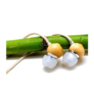 Bambusowe słuchawki Earbuds Hemp