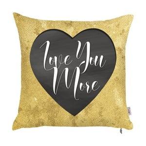 Poszewka na poduszkę Apolena Love You More, 43x43 cm