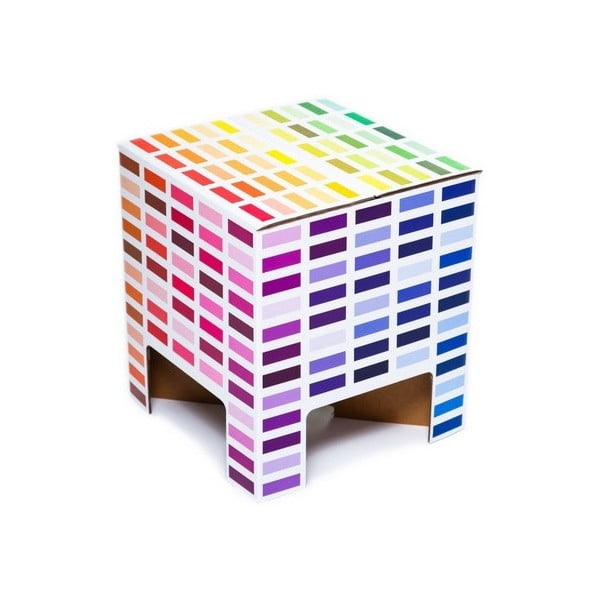 Taboret Dutch Design Chair Rainbow