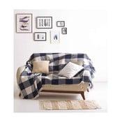 Bawełniany koc Dama, 180x230 cm