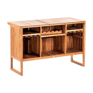Ogrodowy stolik barowy z drewna tekowego Massive Home Real