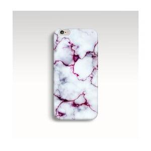 Etui na telefon Marble Fuchsia na iPhone 6/6S