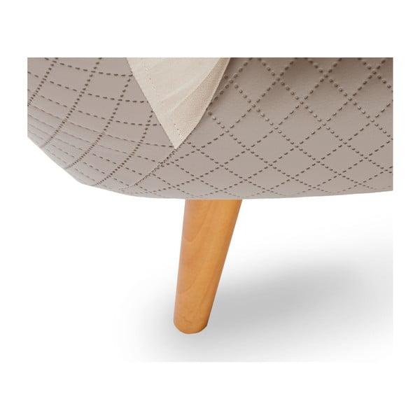 Kremowa sofa 3-osobowa Scandi by Stella Cadente Maison Meteore