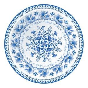 Zestaw 2 mat stołowych Blue Porcelain