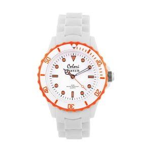 Zegarek Colori 40 White/Orange