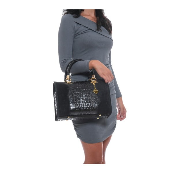 Skórzana torebka Isabella Rhea 822 Black