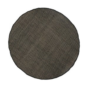 Wełniany dywan Asko Black, 90 cm