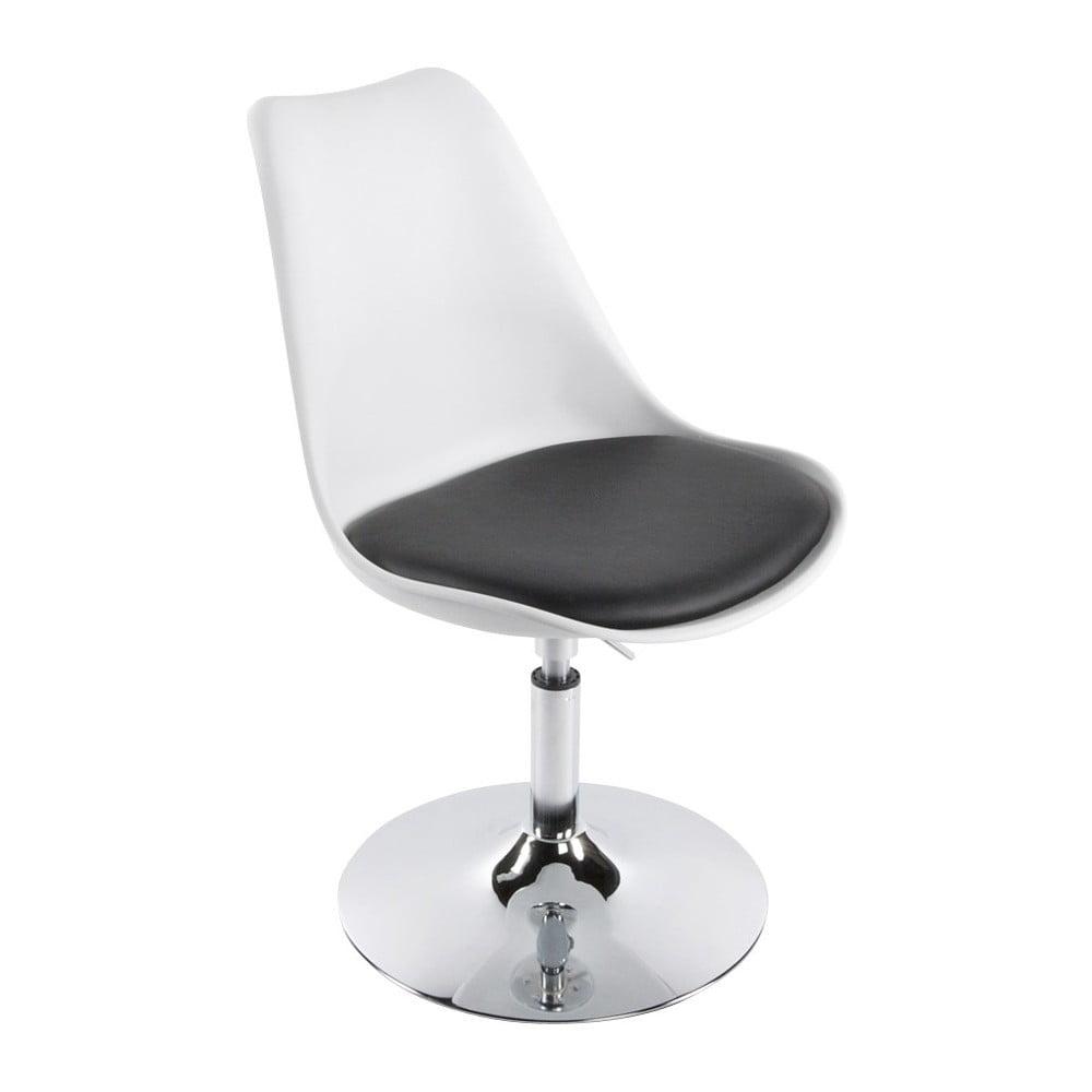 Biało-czarne krzesło Kokoon Victoria