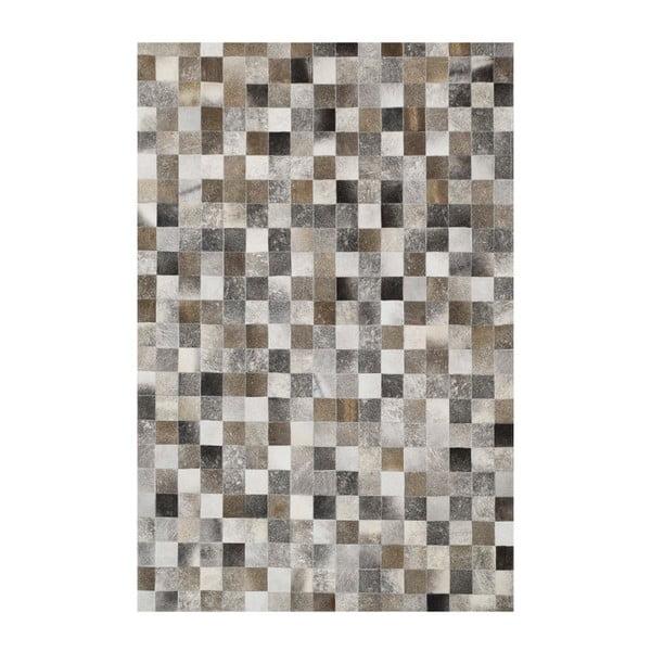 Dywan skórzany Sao Paulo Grey, 200x300 cm
