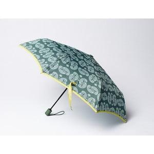 Składany parasol Cashmere, zielony