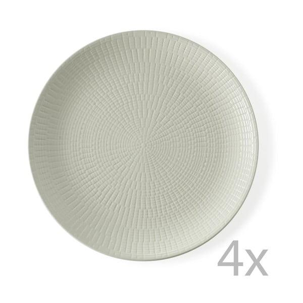 Zestaw 4 talerzy Granaglie Creme, 27 cm