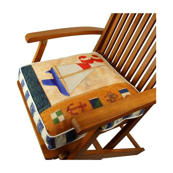 Poduszka na krzesło z wypełnieniem No. 3, 42x42 cm
