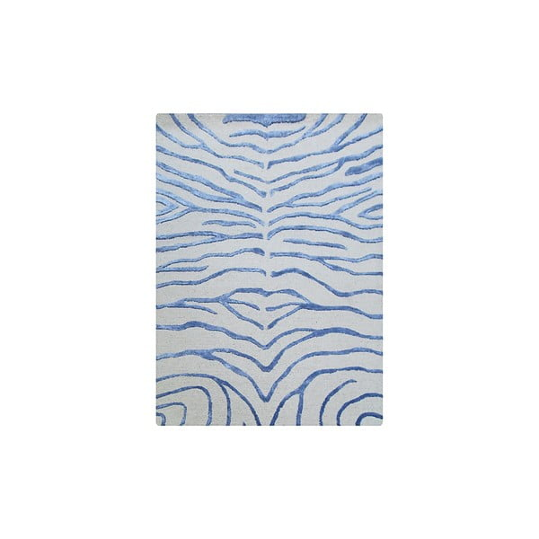 Dywan Zebra Light Blue, 122x183 cm