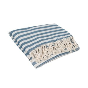 Ręcznik kąpielowy hammam Akasya Sugar Paper, 90x190 cm