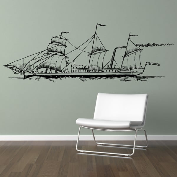 Naklejka Ship, 110x298 cm