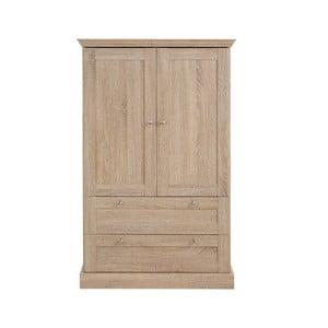 2-drzwiowa szafa z dębowym dekorem Støraa Bruce
