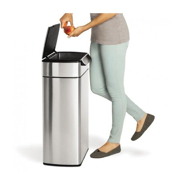 Dotykowy kosz na śmieci simplehuman 40 l