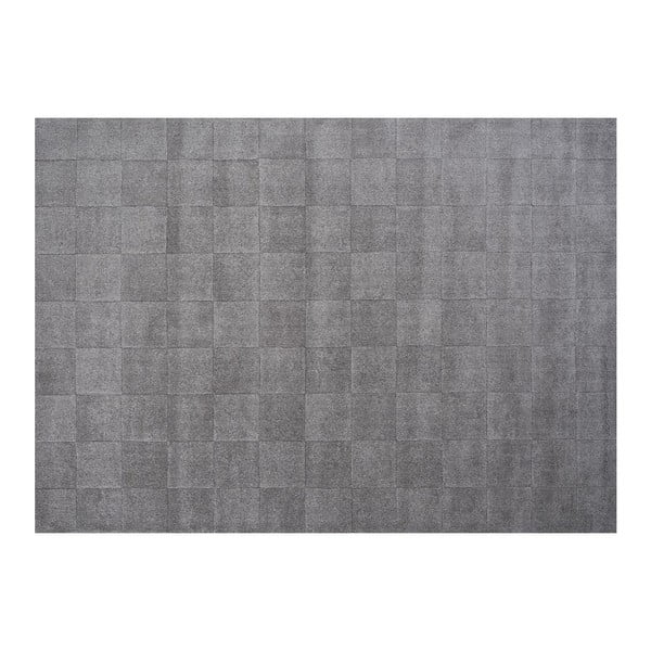 Dywan wełniany Luzern Grey, 140 x 200 cm