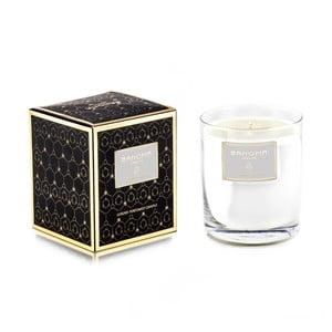 Świeczka zapachowa w szkle o zapachu śliwek Bahoma London, 75 godzin