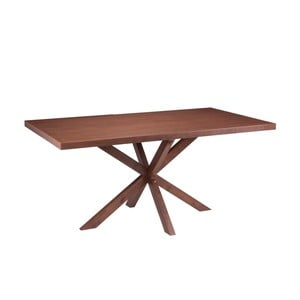 Stół w dekorze drewna orzechowego sømcasa Dina, 160 x 90 cm