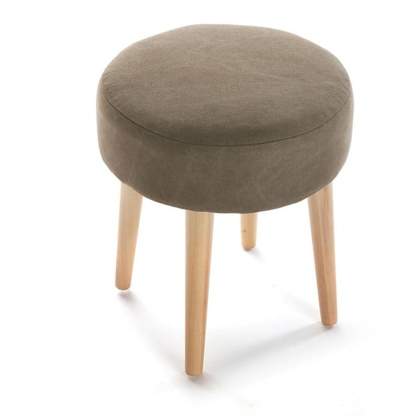 Stołek Brown Round Stool