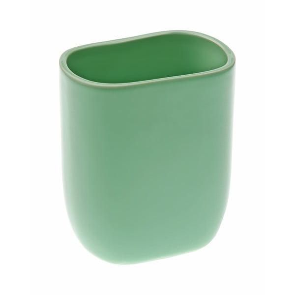 Zielony kubek na szczoteczki Versa Ceramic