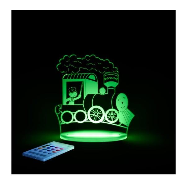 Dziecięca lampa nocna LED Aloka Pociąg