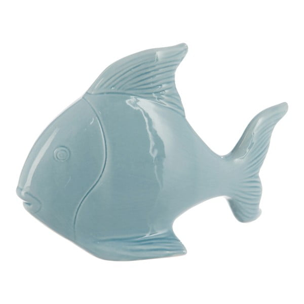 Dekoracja Fish In Light Blue 23x16 cm