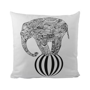 Poduszka Black Shake Circus Elephant, 50x50 cm
