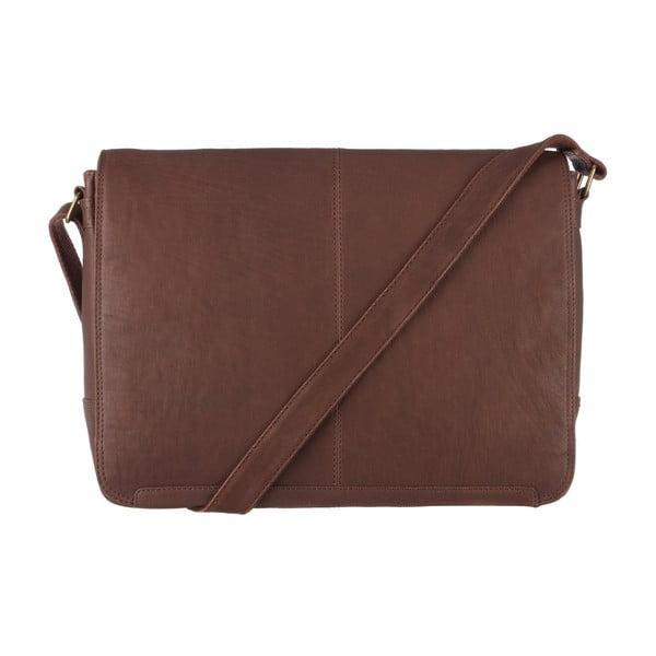 Skórzana torba Croft Claret