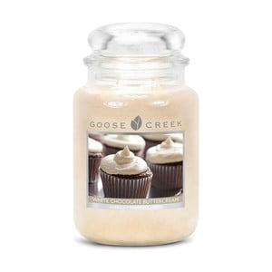 Świeczka zapachowa w szklanym pojemniku Goose Creek Biała czekolada, 0,68 kg