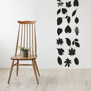 Naklejka na ścianę Liście, 50x70 cm