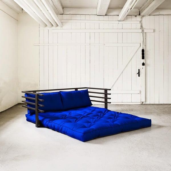 Rozkładana sofa dwuosobowa Karup Funk Black/Royal