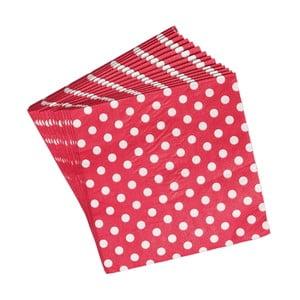 Zestaw 20 serwetek papierowych Rex London Retro Dot