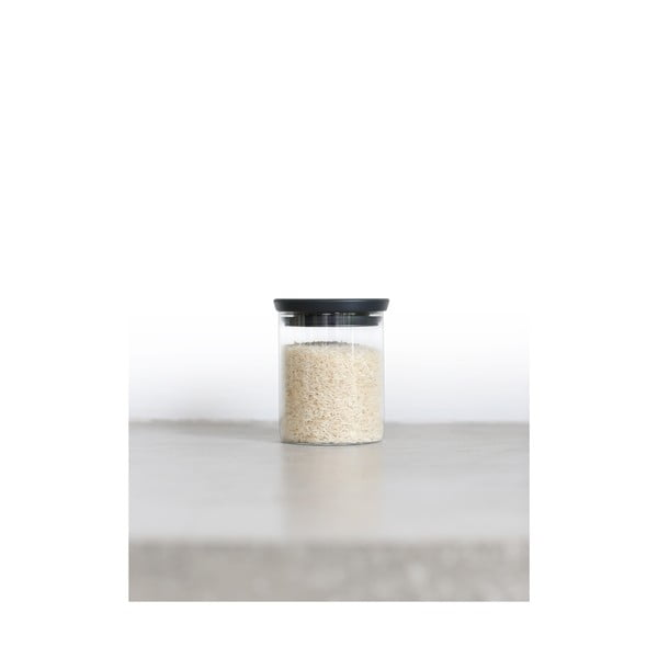 Szklany pojemnik Brabantia Lely, 0,6 l