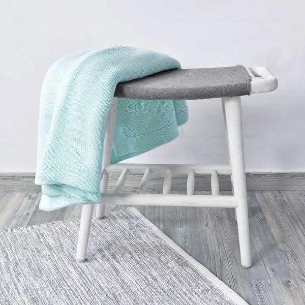 Biały stołek Hawke&Thorn Preston