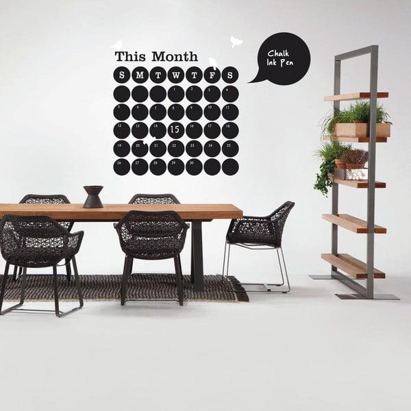 Naklejka dekoracyjna Calendar, 120x120 cm