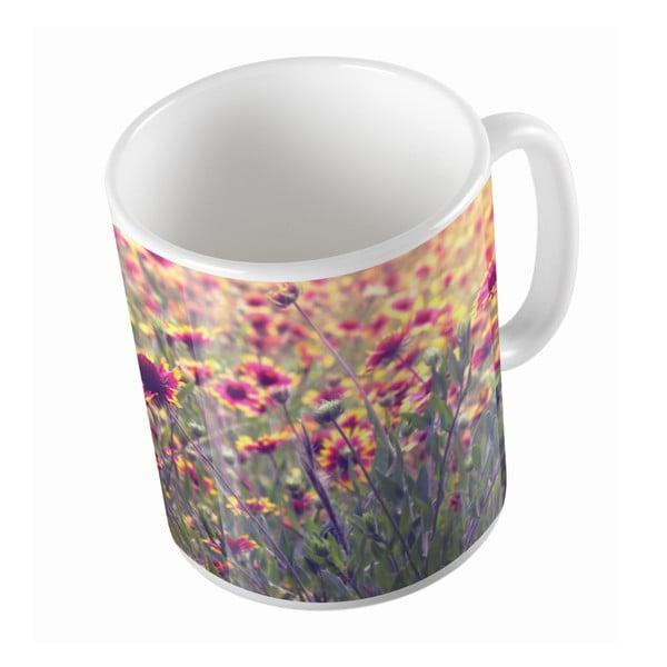 Kubek ceramiczny Flower Field, 330 ml