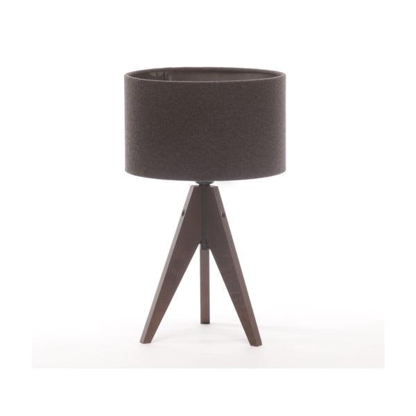 Lampa stołowa Artist Cylinder Dark Grey/Dark Brown