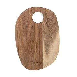 Deska do krojenia z drewna akacji Bloomingville, 30x21 cm
