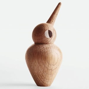Duża dekoracja w kształcie ptaszka z ruchomą główką Architectmade Bird