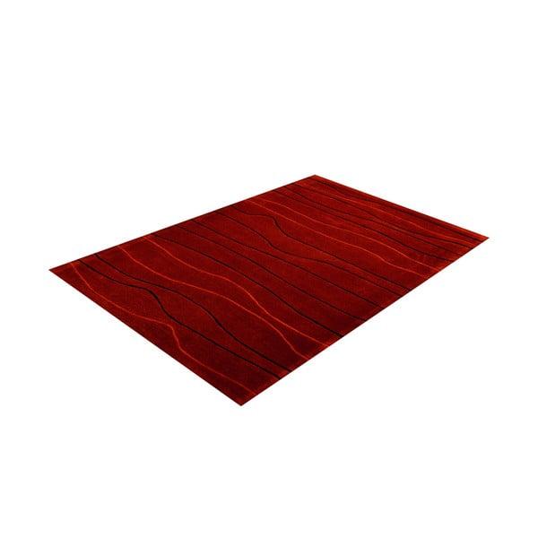Dywan ręcznie tkany Tufting, 120x180 cm, czerwony
