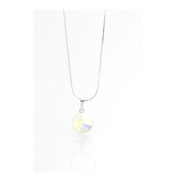 Naszyjnik z kryształami Swarovskiego Yasmine Longie Clear